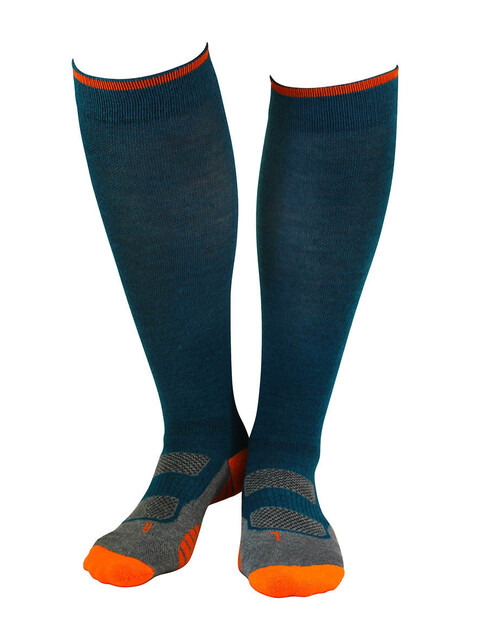 Gococo Compression Wool Socks Petroleum